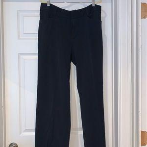 Michael Kors Straight Leg Navy Dress Pant